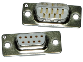 RS 232 connector