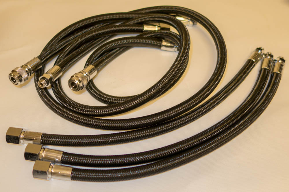 Set Miflex hoses for JJ-CCR analog