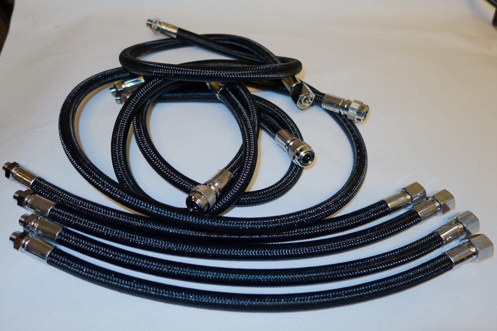 Set Miflex hoses for JJ-CCR DiveCAN