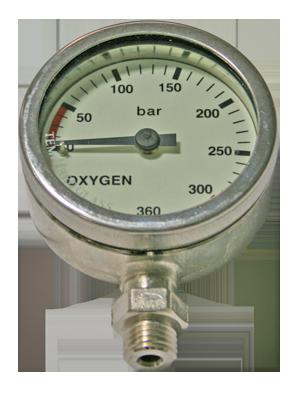 DirZone Finimeter 52mm Sauerstoff