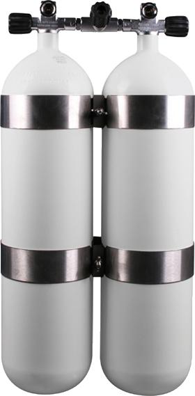 Doppelgerät 300bar 10l DIR Style