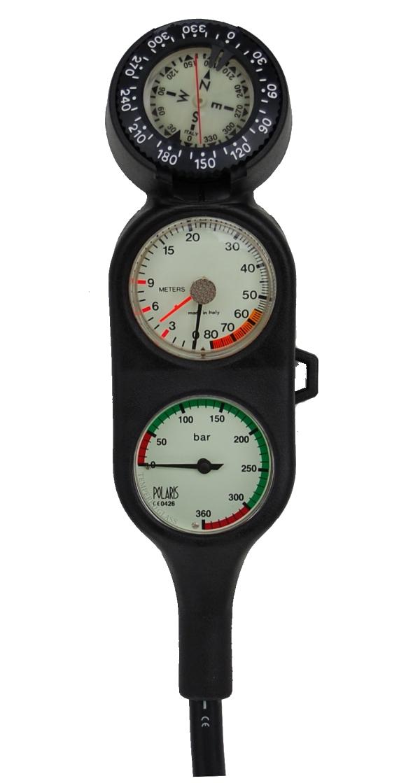 Dreierkonsole mit Kompass