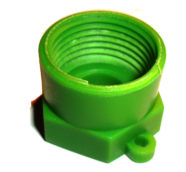 Nitrox regulator plastic cap