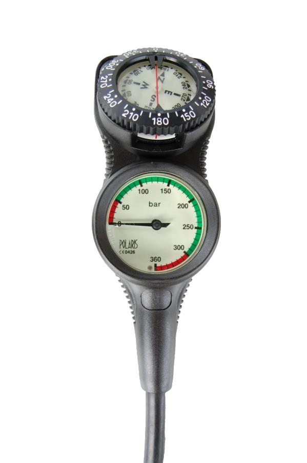 Zweierkonsole mit Kompass