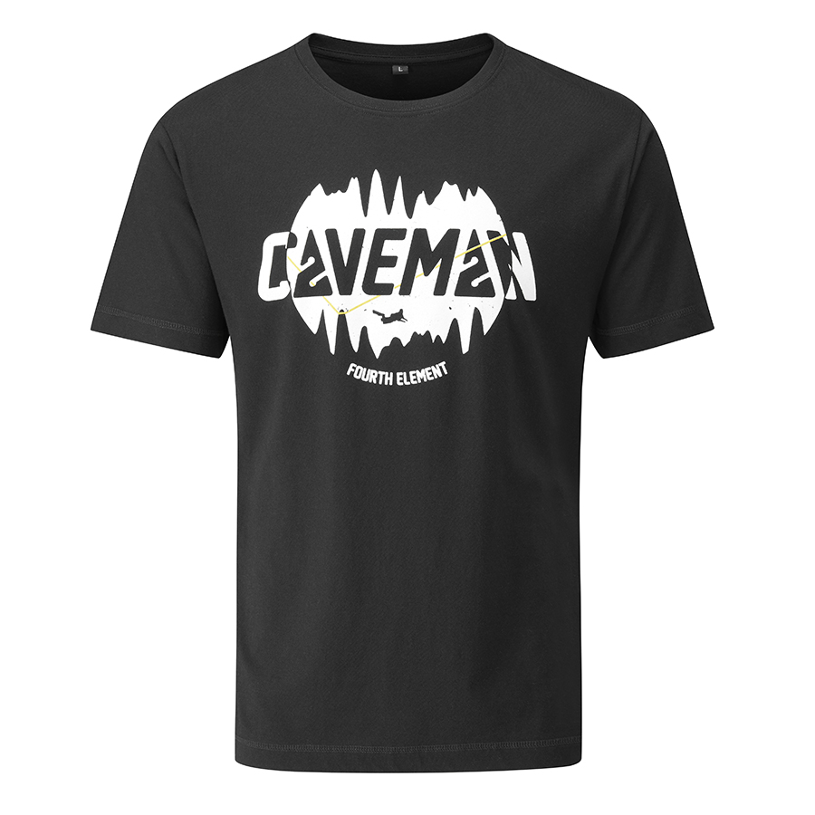 CaveMan T-Shirt schwarz