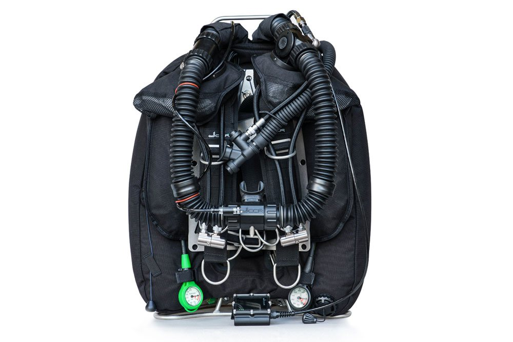 JJ-CCR Rebreather with DiveCAN